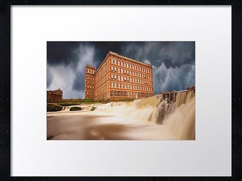 Paisley mills  40cm x 30cm framed print or canvas pri