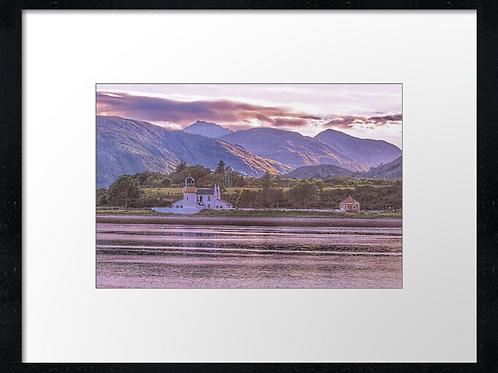 Corran Lighthouse print or canvas print