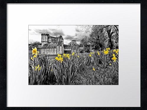 Castle Fraser (1) 40cm x 30cm framed print or canvas print