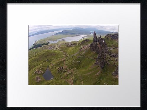 Storr, Isle of Skye (2) 40cm x 30cm framed print or canvas print