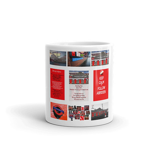Aberdeen fc 9 picture collage Mug