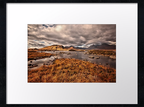Glencoe (3) 40cm x 30cm framed print or canvas pri