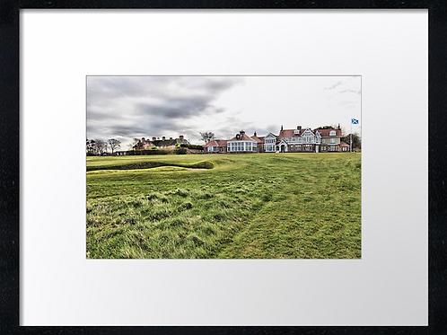 Muirfield golf course 40cm x 30cm framed print or canvas print