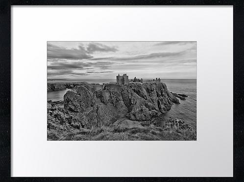 Dunnottar castle (1) 40cm x 30cm framed print or canvas print