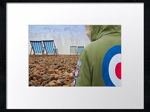 Brighton 40cm x 30cm framed print, canvas print or A4, A3 mounted