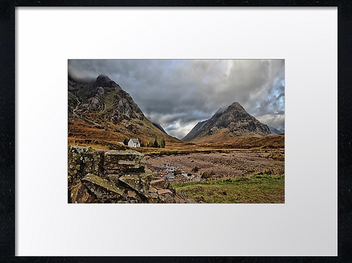 Glencoe (4) 40cm x 30cm framed print or canvas pri