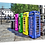Thumbnail: Coloured phone boxes 40cm x 30cm framed print or canvas print