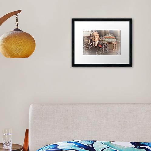 Nucky 1 print or canvas print. Example shown 40cm x 30cm frame