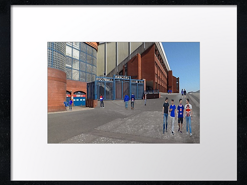 Rangers  (4) 40cm x 30cm framed print or canvas print