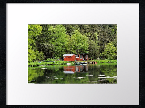 Tranquility 40cm x 30cm framed print or canvas pri
