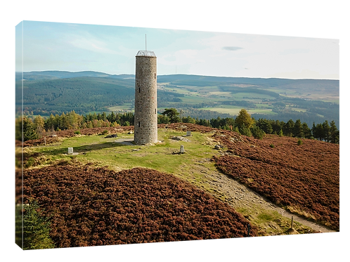 Scolty Hill, Banchory drone picture (1)  40cm x 30cm framed print or c