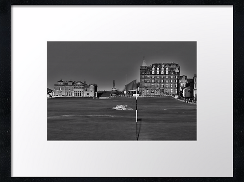 St Andrews Golf 9 Print or canvas. Example 40cm x 30cm framed print
