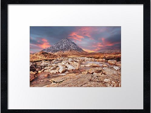 Glencoe (1)  40cm x 30cm framed print or canvas pri