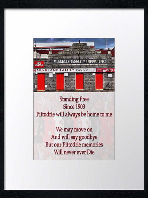 Aberdeen (19) The Pittodrie poem