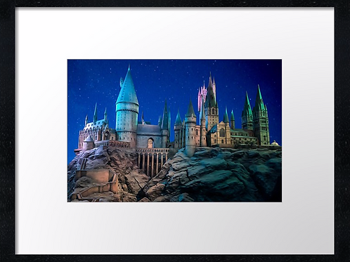 Harry Potter (Hogwarts 2) 40cm x 30cm framed print or canvas print