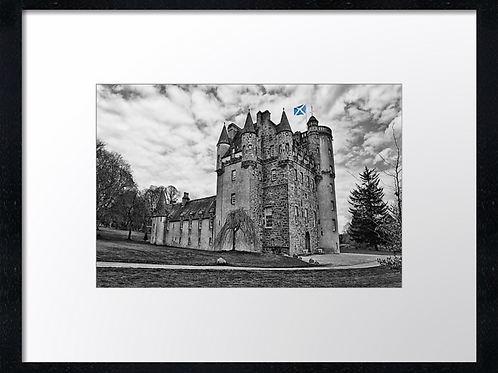 Castle Fraser (2) 40cm x 30cm framed print or canvas print