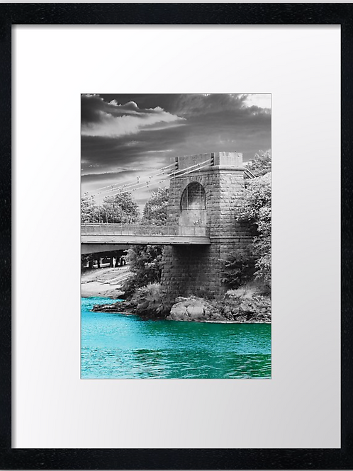 Aberdeen bridge (1) 30cm x 40cm framed print, canvas print or A4, A3 mounted pri