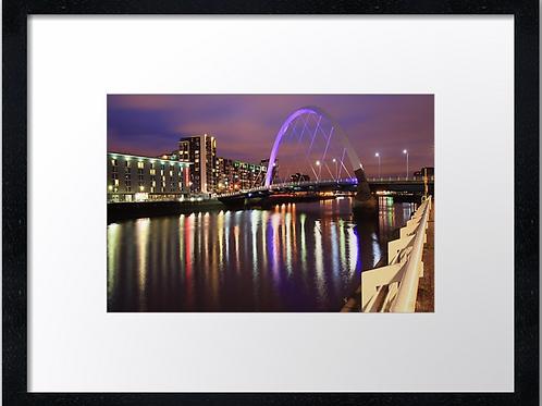 Glasgow Clydeside  40cm x 30cm framed print or canvas pri