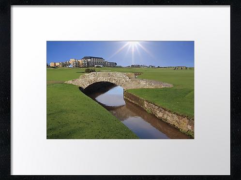 St Andrews Golf 4 Print or canvas. Example 40cm x 30cm framed print