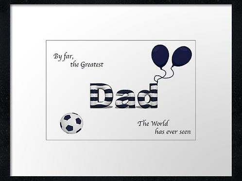 Dundee Dad (3)  40cm x 30cm framed print or canvas pri