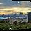 Thumbnail: Aberdeen Skyline (1) 40cm x 30cm framed print or canvas pri