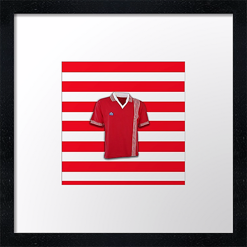 "Aberdeen (Stripes) (Example shown 10"" Framed print £21.50)"