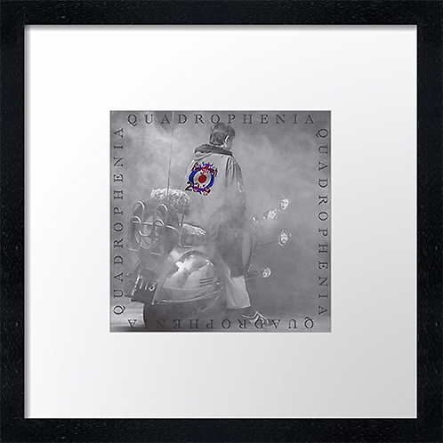 "Quadrophenia 40 Print or canvas print Example shown is 10"" Framed print £21.50"