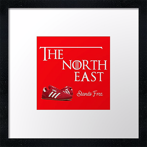 "The North East (1) Example shown 10"" framed print £21.50"