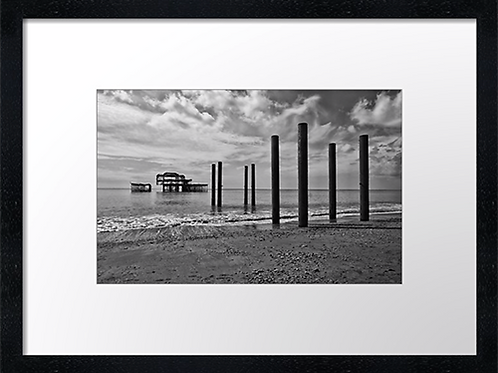 Brighton (5) 40cm x 30cm framed print, canvas print or A4, A3 mounted pr