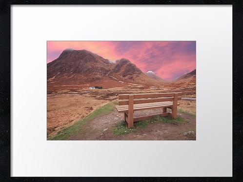 Glencoe (5) 40cm x 30cm framed print or canvas pri