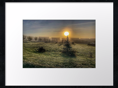 Autumn Sun 1 40cm x 30cm framed print or canvas pri