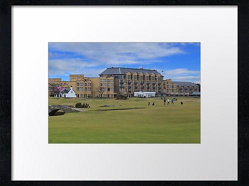 St Andrews Golf 2 Print or canvas. Example 40cm x 30cm framed print