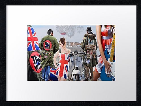 Mods (13) 40cm x 30cm framed print, canvas print or A4, A3 mounted print