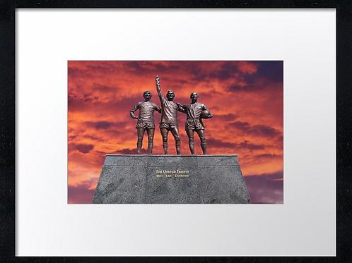 Manchester United (3) 40cm x 30cm framed print or canvas print