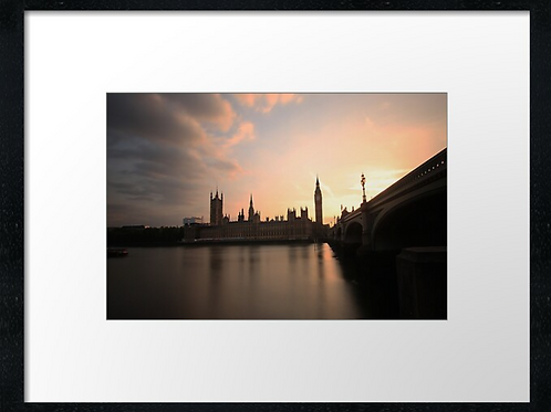 London (20) print or canvas print (example shown 40cm x 30cm framed print)