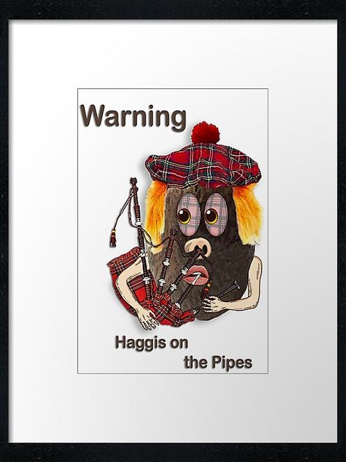 Haggis (6)  40cm x 30cm framed print or c