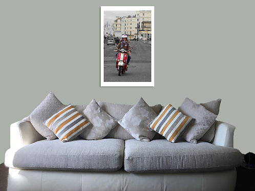Brighton 20 24 Print,  Framed print, canvas print or poster