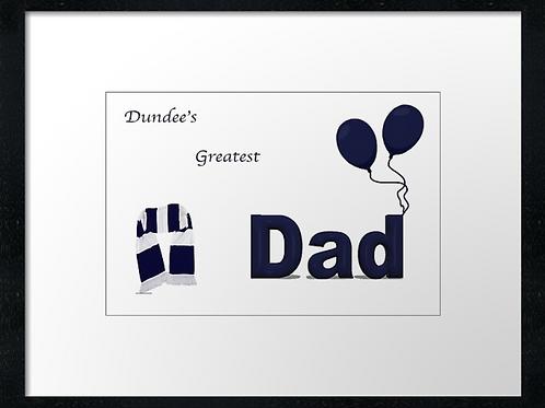 Dundee Dad (2)  40cm x 30cm framed print or canvas pri