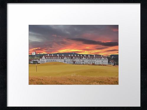 Turnberry golf course (7) 40cmx 30cm framed print or canvas print