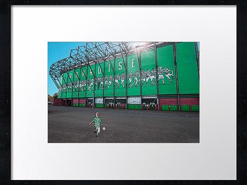 Celtic Paradise, 40cm x 30cm framed print, print or canvas print