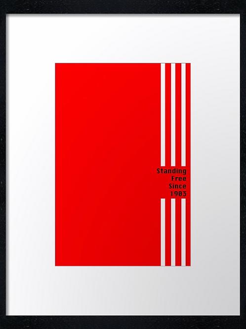 Aberdeen (16) 3 stripes Standing free since 1903