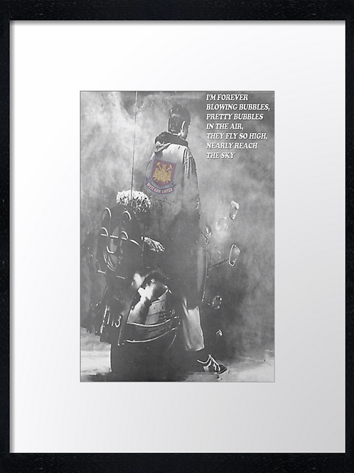West Ham (1) 40cm x 30cm framed print or canvas print
