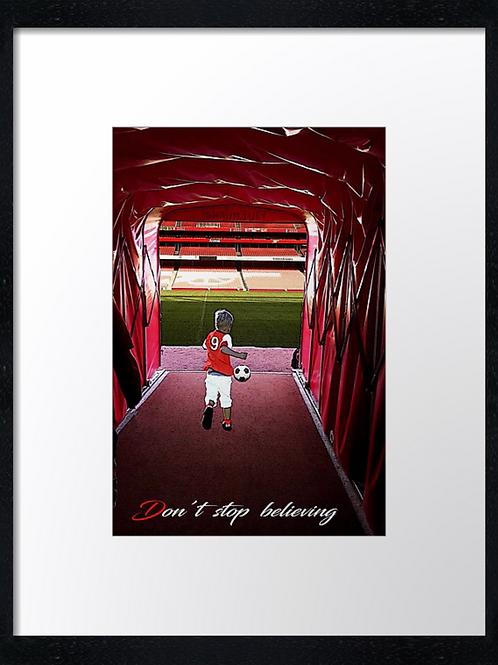 Arsenal (2) 40cm x 30cm framed print or canvas print