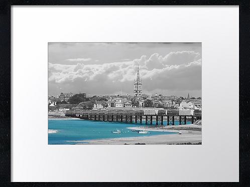 Montrose bay (1) 40cm x 30cm framed print or canvas pri
