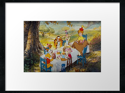 Winnie-the-Pooh (3) example shown 40cm x 30cm framed print