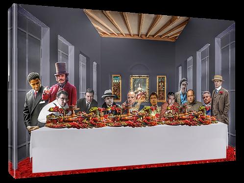 Mafia supper (3) print or canvas print (example shown 40cm x 30cm framed