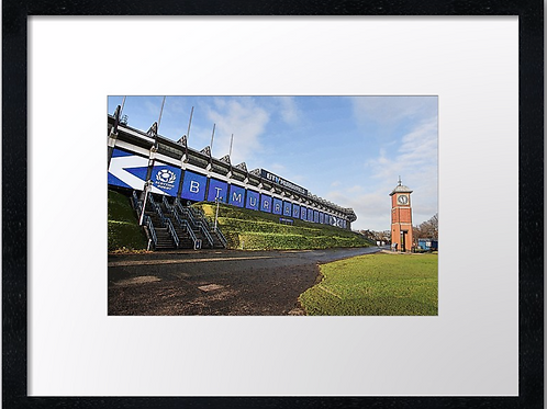 Murrayfield stadium  (2) 40cm x 30cm framed print or canvas print