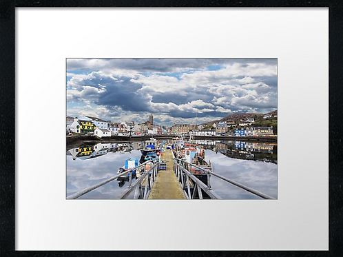 Tarbert (2) print or canvas print (Example shown 40cm x 30cm framed print)