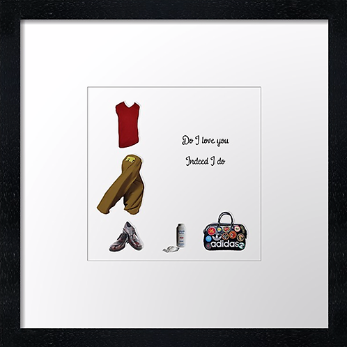 "Do I love you Print or canvas print Example shown is 10"" Framed print £21.50"