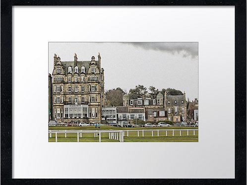 St Andrews Golf 10 Print or canvas. Example 40cm x 30cm framed print